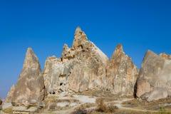 Cappadocia rock formation, Goreme Royalty Free Stock Photo