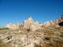 Cappadocia rock formation in Turkey Stock Image