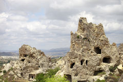 Cappadocia, Rock formations in Goreme National Park Stock Images
