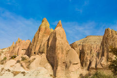 Cappadocia rock formations, Goreme Stock Image
