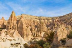 Cappadocia rock formations, Goreme Royalty Free Stock Image
