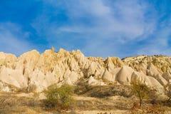 Cappadocia rock formations, Goreme Royalty Free Stock Photo