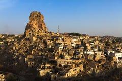 Cappadocia and rock formations Royalty Free Stock Photos