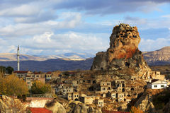 Cappadocia and rock formations Royalty Free Stock Photography