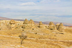 Cappadocia rock formations Stock Photo