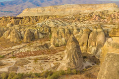 Cappadocia rock formations valley Royalty Free Stock Image