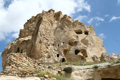 Cappadocia rock. Landscape in Cappadocia in Turkey Royalty Free Stock Image