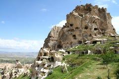 Cappadocia rock. Landscape in Cappadocia in Turkey stock images