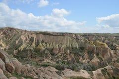 Cappadocia rock landscape, Turkey Stock Photography