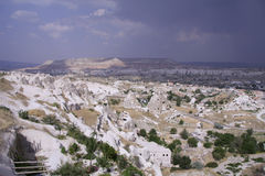 Cappadocia Rock Landscapes Royalty Free Stock Photos
