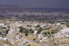 Cappadocia Rock Landscapes Stock Photography