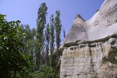 Cappadocia rock landscapes Royalty Free Stock Photo