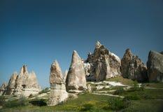 Cappadocia rock valley Stock Photography