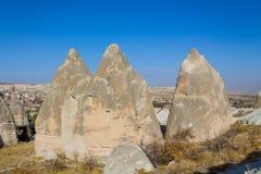 Cappadocia rocks, Goreme Stock Photo
