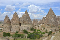 Cappadocia rocks Royalty Free Stock Photos