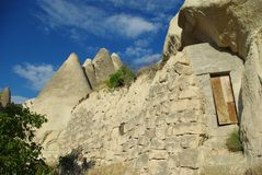 Cappadocia Rocky House Royalty Free Stock Photography
