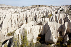 Cappadocia: Rose valley. mountains made by wind stock image