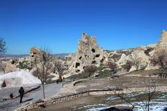 Cappadocia. Ancient cave church Stock Photos
