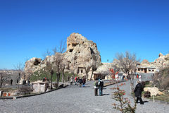 Cappadocia. Ancient cave church Royalty Free Stock Photography
