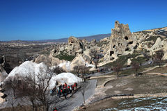 Cappadocia. Ancient cave church Royalty Free Stock Images