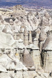 Cappadocia's valley. Turkey. View of rocks of Capadocia Royalty Free Stock Photography