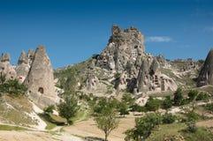 Cappadocia Sandstone landscape Stock Images
