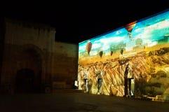 Cappadocia Sema toont Stock Fotografie
