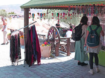 Cappadocia souvenir shop Royalty Free Stock Image