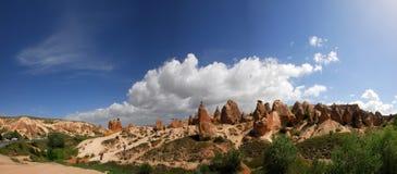 Cappadocia. The speciel stone formation of cappadocia turkey stock image