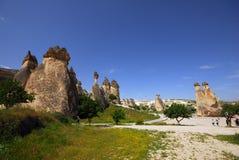 Cappadocia. The speciel stone formation of cappadocia turkey royalty free stock image