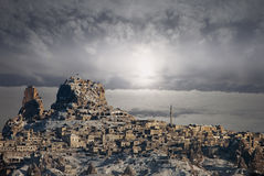 Cappadocia spectaculaire Images stock