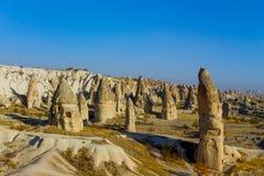 Cappadocia spectacular landscape Stock Photo
