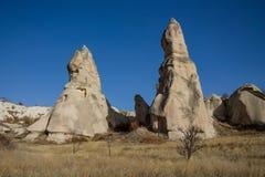 Cappadocia spectacular towers Royalty Free Stock Image