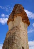Cappadocia, Steinsäulen von Natur aus hergestellt durch Abnutzung Lizenzfreie Stockbilder