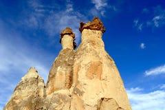 Cappadocia. Stone pillars Stock Images