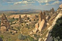 Cappadocia - tacchino Fotografia Stock Libera da Diritti