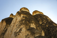 Cappadocia three chimneys Royalty Free Stock Photo