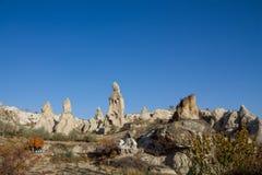 Cappadocia towers, Turkey Royalty Free Stock Photography