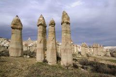 Cappadocia Truthahn Lizenzfreies Stockfoto