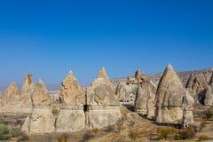 Cappadocia tuff formations landscape Stock Photography