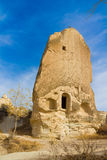 Cappadocia tuff rocks and cave house Stock Image