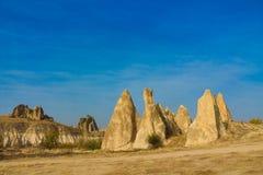 Cappadocia tuff rocks Royalty Free Stock Image