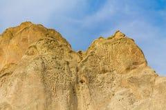 Cappadocia tuff rocks Royalty Free Stock Photo