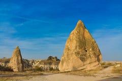 Cappadocia tuff rocks Stock Photos
