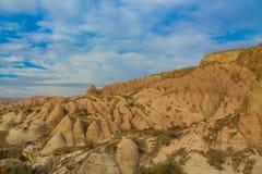 Cappadocia tuff rocks valley in autumn Royalty Free Stock Photography