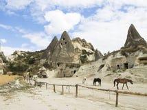 Cappadocia, Turchia Fotografie Stock Libere da Diritti