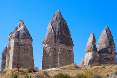 Cappadocia, Turchia Immagini Stock Libere da Diritti