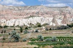 Cappadocia Turchia Fotografie Stock Libere da Diritti