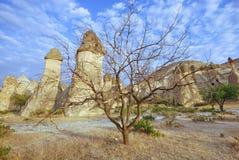 Cappadocia, Turcja obraz royalty free