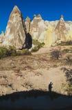 Cappadocia, Turcja -, Czarodziejscy kominy Fotografia Royalty Free